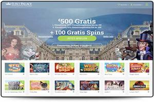Europalace Casino Test